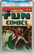 Golden Age (1938-1955):Miscellaneous, More Fun Comics #43 (DC, 1939) CGC FN/VF 7.0 Cream to off-white pages....