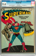 Golden Age (1938-1955):Superhero, Superman #26 (DC, 1944) CGC NM 9.4 White pages....