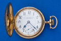"Timepieces:Pocket (post 1900), Illinois ""Paillard"" 24 Jewel Non-Magnetic 18 Size Hunter's CasesPocket Watch. ..."