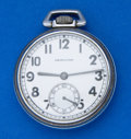 Timepieces:Pocket (post 1900), Hamilton 17 Jewel 2974 B 16 Size Pocket Watch. ...