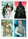 Memorabilia:Science Fiction, Star Wars: The Empire Strikes Back Photo Cards Set (Topps, 1980).... (Total: 30 Items)
