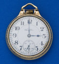 Timepieces:Pocket (post 1900), Hamilton 19 Jewel 952 - 16 Size Pocket Watch. ...