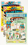 Bronze Age (1970-1979):Superhero, Superman #270-323 Group - Twin Cities pedigree (DC, 1973-78)Condition: Average VF.... (Total: 54 Comic Books)