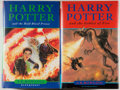 Books:Children's Books, J. K. Rowling. Two First Edition Harry Potter Books, including:Harry Potter and the Goblet of Fire [and:] Harry...(Total: 2 Items)
