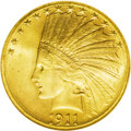 Indian Eagles: , 1911-S $10 MS65 NGC. The 1911-S has a mintage of just 51,000pieces. The majority of survivors show light wear, either from...