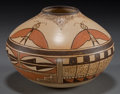 American Indian Art:Pottery, A HOPI POLYCHROME JAR. Tonita Nampeyo...
