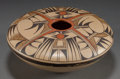 American Indian Art:Pottery, A HOPI POLYCHROME SEED JAR. Dawn Navasie...