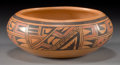 American Indian Art:Pottery, A HOPI POLYCHROME JAR. Marcella Kahe...