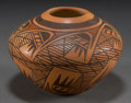 American Indian Art:Pottery, A HOPI POLYCHROME JAR . Miriam Nampeyo...