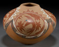 American Indian Art:Pottery, A JEMEZ ETCHED POLYCHROME JAR . Helen Tafoya Henderson. ...