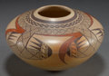 American Indian Art:Pottery, A HOPI POLYCHROME SEED JAR . James Nampeyo. ...