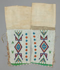 American Indian Art:Beadwork and Quillwork, A PAIR OF SIOUX WOMAN'S BEADED HIDE LEGGINGS. ... (Total: 1 Pair)