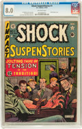 Golden Age (1938-1955):Horror, Shock SuspenStories #1 (EC, 1952) CGC VF 8.0 Off-white pages....