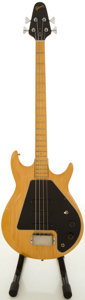 Musical Instruments:Bass Guitars, 1978 Gibson G-3 Natural Electric Bass Guitar, #72688054....