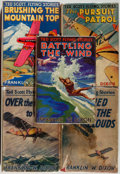Books:Children's Books, Franklin W. Dixon. Five First Editions of Ted Scott Flying Stories,including: Rescued in the Clouds; Over t... (Total: 5Items)
