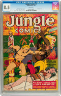 Golden Age (1938-1955):Adventure, Jungle Comics #7 (Fiction House, 1940) CGC VF+ 8.5 White pages....