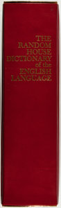Books:Reference & Bibliography, The Random House Dictionary of the English Language....