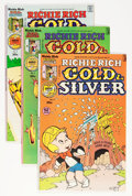 Bronze Age (1970-1979):Cartoon Character, Richie Rich Gold and Silver #2-42 File Copy Short Box Group (Harvey, 1975-82) Condition: Average NM-....