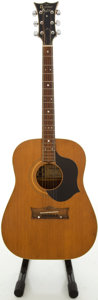 Musical Instruments:Acoustic Guitars, Circa 1970's Grammer Natural Acoustic Guitar, #4418....