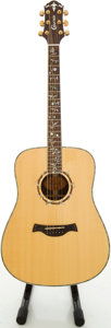 Musical Instruments:Acoustic Guitars, Crafter D45/N Natural Acoustic Guitar, #03110587....