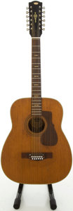 Musical Instruments:Acoustic Guitars, Circa 1970's Coronet Import Natural 12 String Acoustic Guitar....
