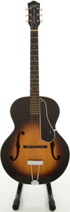 Musical Instruments:Acoustic Guitars, 1958 Gretsch New Yorker Sunburst Archtop Acoustic Guitar,#29529....