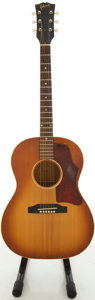 Musical Instruments:Acoustic Guitars, Circa 1966 Gibson LG-1 Sunburst Acoustic Guitar, #425921....
