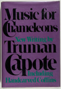Books:Signed Editions, Truman Capote. SIGNED. Music for Chameleons....