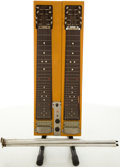 Musical Instruments:Lap Steel Guitars, Circa Late 1950's Gibson Blonde Console Lap Steel Guitar,#614388....
