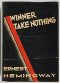 Books:Fiction, Ernest Hemingway. Winner Take Nothing....