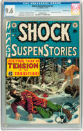 Golden Age (1938-1955):Horror, Shock SuspenStories #3 Gaines File pedigree 2/12 (EC, 1952) CGC NM+9.6 Off-white to white pages....
