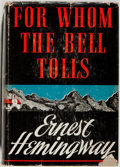 Books:First Editions, Ernest Hemingway. For Whom the Bell Tolls. New York: CharlesScribner's Sons, 1940. First edition, first state w...