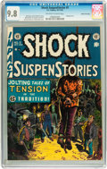 Golden Age (1938-1955):Horror, Shock SuspenStories #5 Gaines File pedigree 2/7 (EC, 1952) CGCNM/MT 9.8 Off-white to white pages....