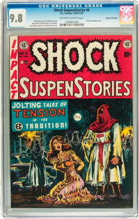 Shock SuspenStories #6 Gaines File pedigree 2/12 (EC, 1952) CGC NM/MT 9.8 Off-white to white pages
