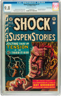 Golden Age (1938-1955):Horror, Shock SuspenStories #7 Gaines File pedigree 2/11 (EC, 1953) CGCNM/MT 9.8 Off-white to white pages....