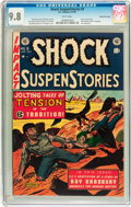 Golden Age (1938-1955):Horror, Shock SuspenStories #9 Gaines File pedigree 2/11 (EC, 1953) CGCNM/MT 9.8 White pages....