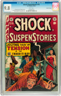 Golden Age (1938-1955):Horror, Shock SuspenStories #10 Gaines File pedigree 2/12 (EC, 1953) CGCNM/MT 9.8 White pages....