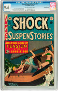 Golden Age (1938-1955):Horror, Shock SuspenStories #11 Gaines File pedigree 2/11 (EC, 1953) CGCNM+ 9.6 Off-white to white pages....