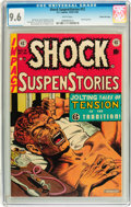 Golden Age (1938-1955):Horror, Shock SuspenStories #12 Gaines File pedigree 2/12 (EC, 1953) CGCNM+ 9.6 White pages....