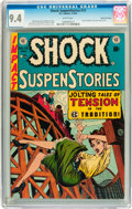Golden Age (1938-1955):Horror, Shock SuspenStories #13 Gaines File pedigree 2/12 (EC, 1954) CGC NM9.4 White pages....