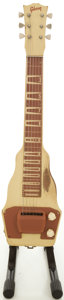 Musical Instruments:Lap Steel Guitars, Circa Early 1950's Gibson BR-9 Tan Lap Steel Guitar....