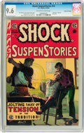 Golden Age (1938-1955):Horror, Shock SuspenStories #16 Gaines File pedigree 2/12 (EC, 1954) CGCNM+ 9.6 Off-white to white pages....