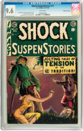 Golden Age (1938-1955):Horror, Shock SuspenStories #17 Gaines File pedigree 2/12 (EC, 1954) CGCNM+ 9.6 White pages....