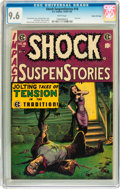 Golden Age (1938-1955):Horror, Shock SuspenStories #18 Gaines File pedigree 2/12 (EC, 1955) CGCNM+ 9.6 White pages....