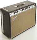 Musical Instruments:Amplifiers, PA, & Effects, Circa 1969 Fender Pro Reverb Silverface Guitar Amplifier, #A12004....