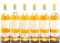 White Bordeaux, Chateau d'Yquem 1970 . Sauternes. 6bn, 3ts, 10lbsl, 1bsl,1tal, 1htal, 1tc, 1ssos, honey color. Bottle (12). ... (Total: 12Btls. )