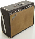 Musical Instruments:Amplifiers, PA, & Effects, 1965 Fender Twin Reverb Blackface Guitar Amplifier, #A03894....