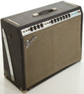 Musical Instruments:Amplifiers, PA, & Effects, 1970's Fender Twin Reverb Silverface Guitar Amplifier, #A38394....