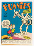 Golden Age (1938-1955):Miscellaneous, The Funnies #34 (Dell, 1939) Condition: VG....