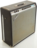Musical Instruments:Amplifiers, PA, & Effects, Circa 1969 Fender Super Reverb Silverface Guitar Amplifier,#A27716....